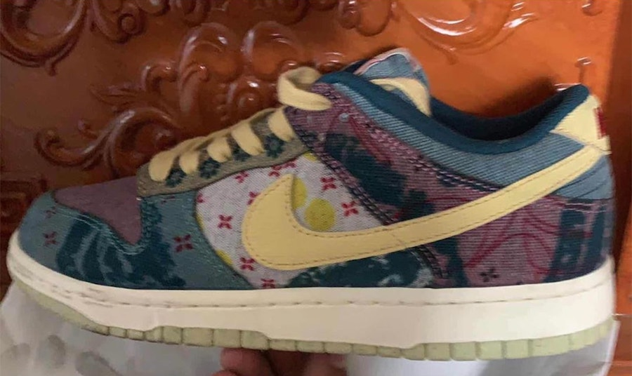 Nike Dunk Low Multi-Color Midnight Turquoise Cardinal Red Lemon Wash CZ9747-900 Release Date Info