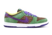 Nike Dunk Low Veneer Autumn Green Deep Purple DA1469-200 2020 Release Date Info