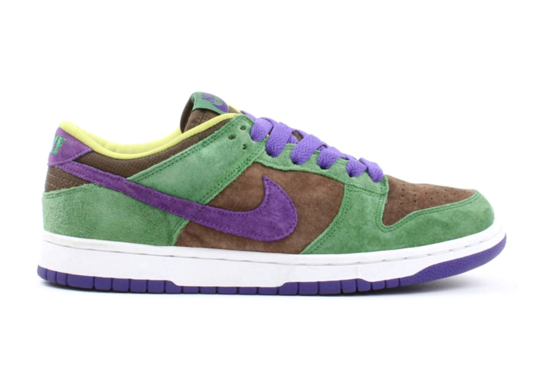 Nike Dunk Low Veneer Autumn Green Deep Purple DA1469-200 2020 Release Date Info