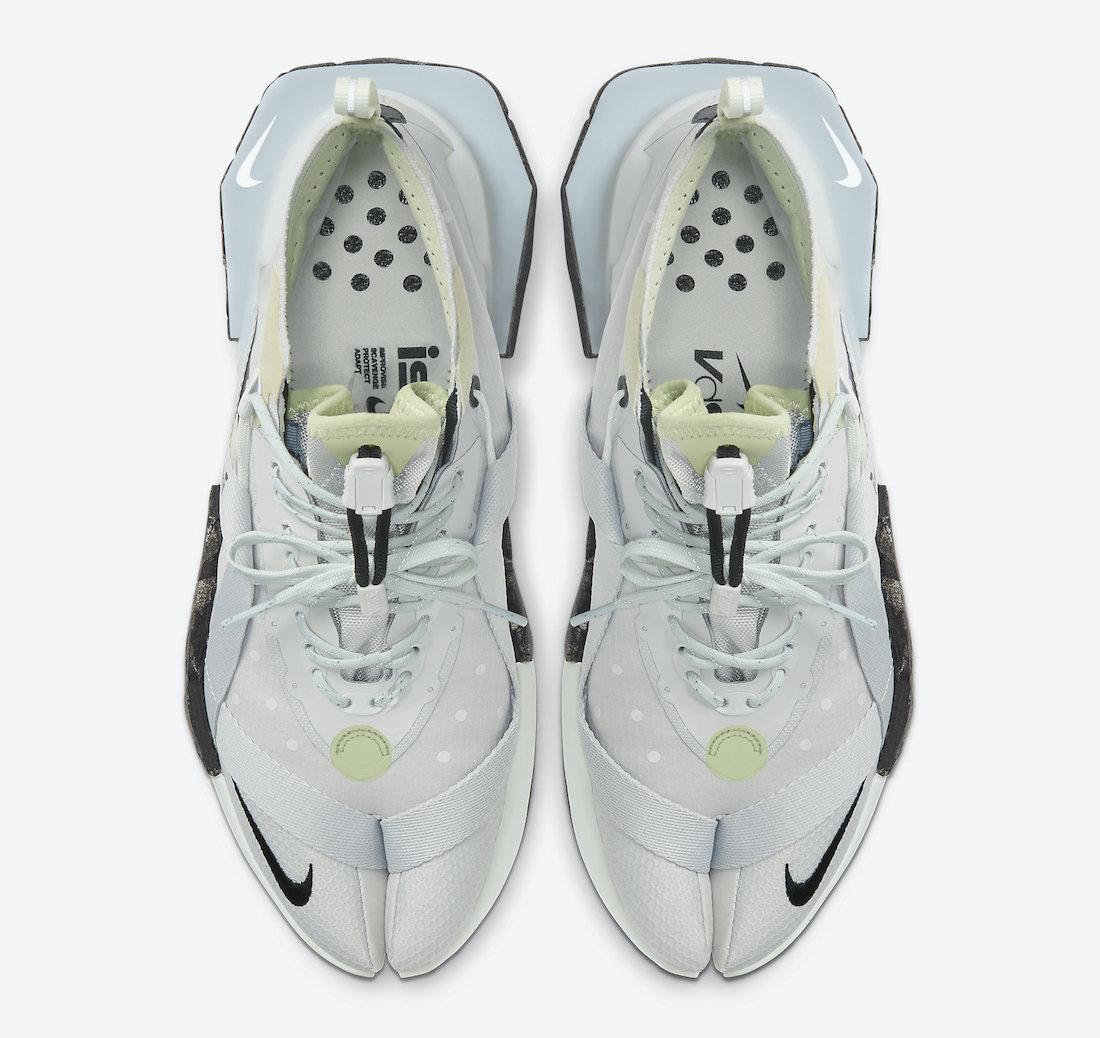 Nike ISPA Drifter Split Grey Fog Spruce Aura AV0733-001 Release Date