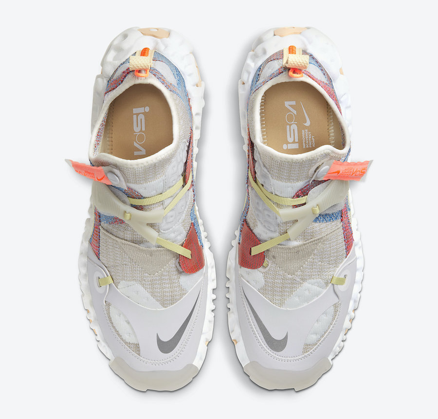 Nike ISPA OverReact Light Bone CD9664-100 Release Date Info