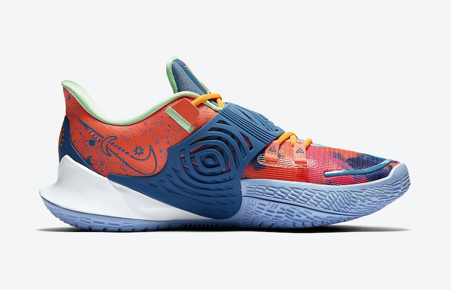 Nike Kyrie Low 3 Ancient Symbols CJ1286-600 Release Date Info