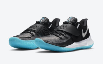 Nike Kyrie Low 3 Black White Blue CJ1286-001 Release Date Info
