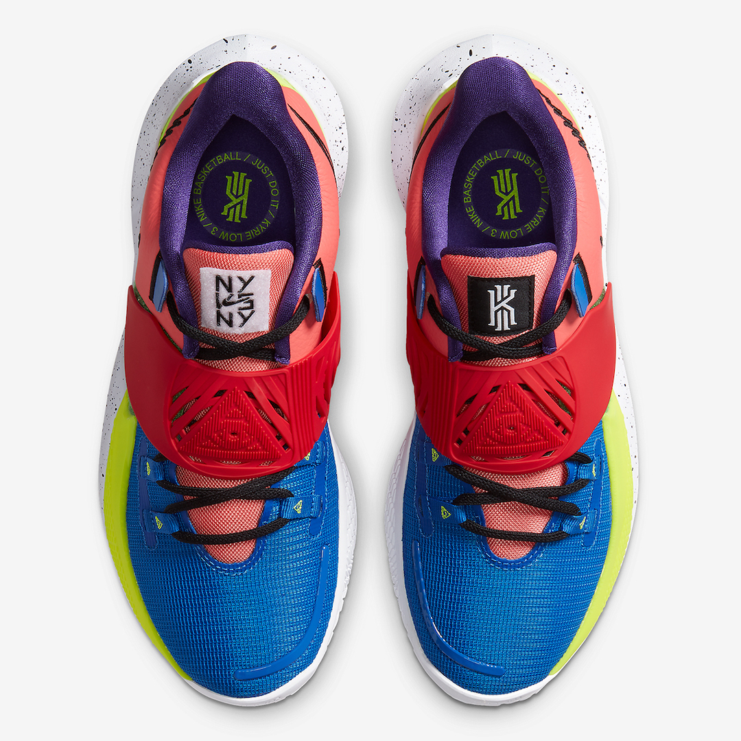 Nike Kyrie Low 3 NY vs NY CJ1286-800 Release Date Info