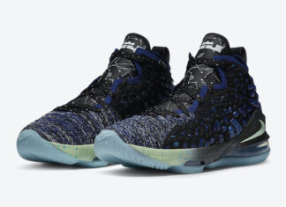 Nike LeBron 17 Constellations BQ5594-407 Release Date Info