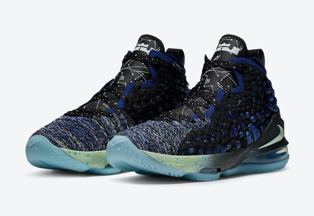 Nike LeBron 17 Constellations BQ5594-407 Release Date Info