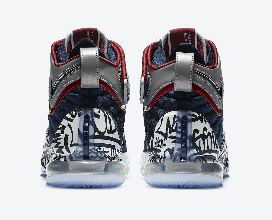 Nike LeBron 17 Graffiti Remix All-Star CT6047-400 Release Date Info