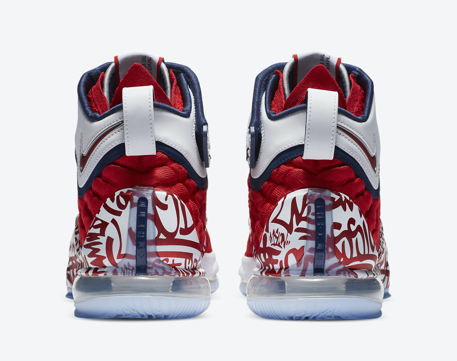Nike LeBron 17 Red Graffiti Remix CT6047-600 Release Info