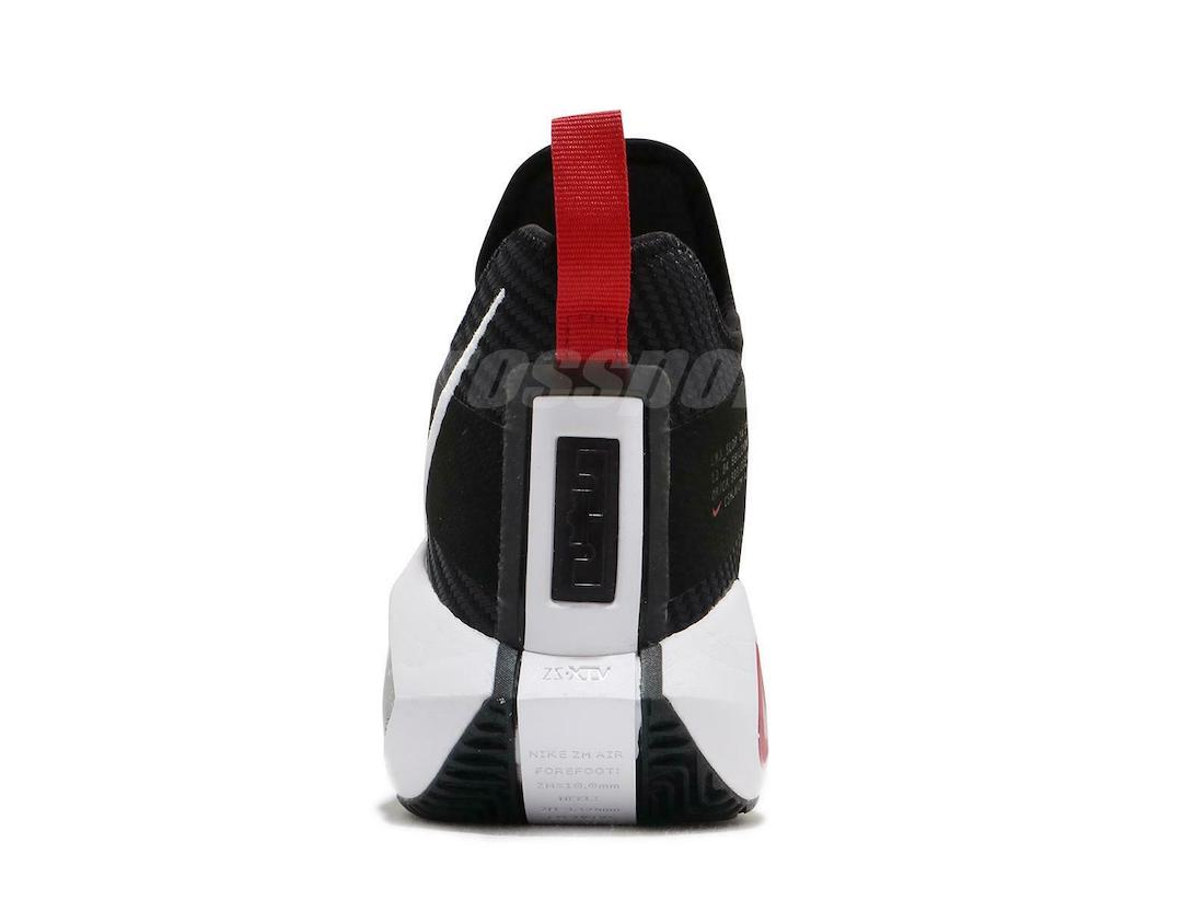 Nike LeBron Soldier 14 Black White University Red CK6047-002 Release Date Info