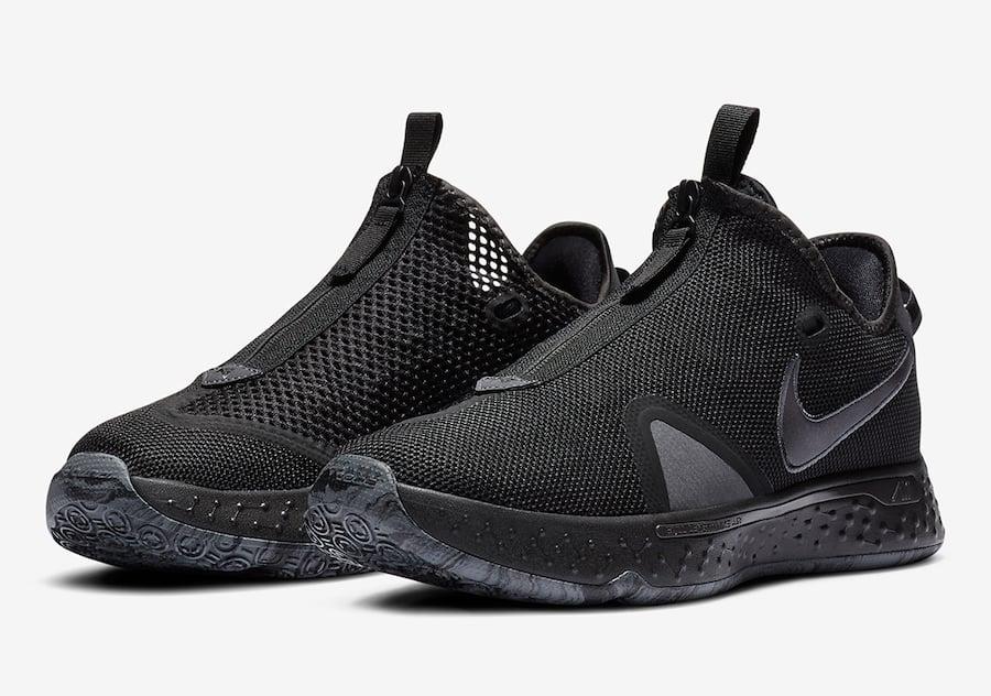 Nike PG 4 Black Grey CD5082-005 Release Date Info