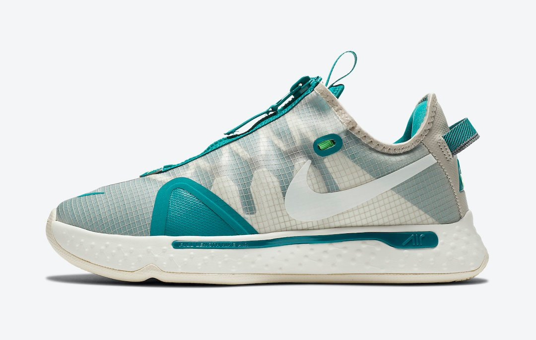 Nike PG 4 PCG Teal White CZ2240-200 Release Date Info
