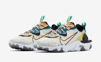Nike React Vision Phantom Green Abyss Laser Orange CZ7870-001 Release Date Info