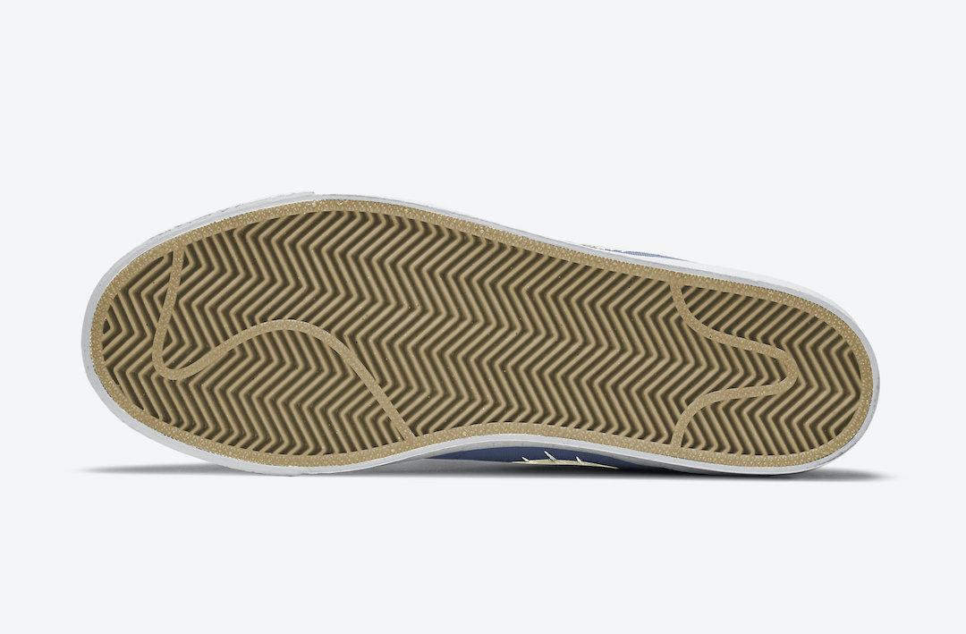 Nike SB Blazer Mid Premium Sashiko Mystic Navy CT0715-400 Release Date Info