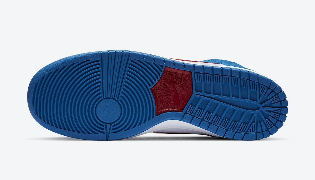 Nike SB Dunk High Doraemon CI2692-400 Release Date