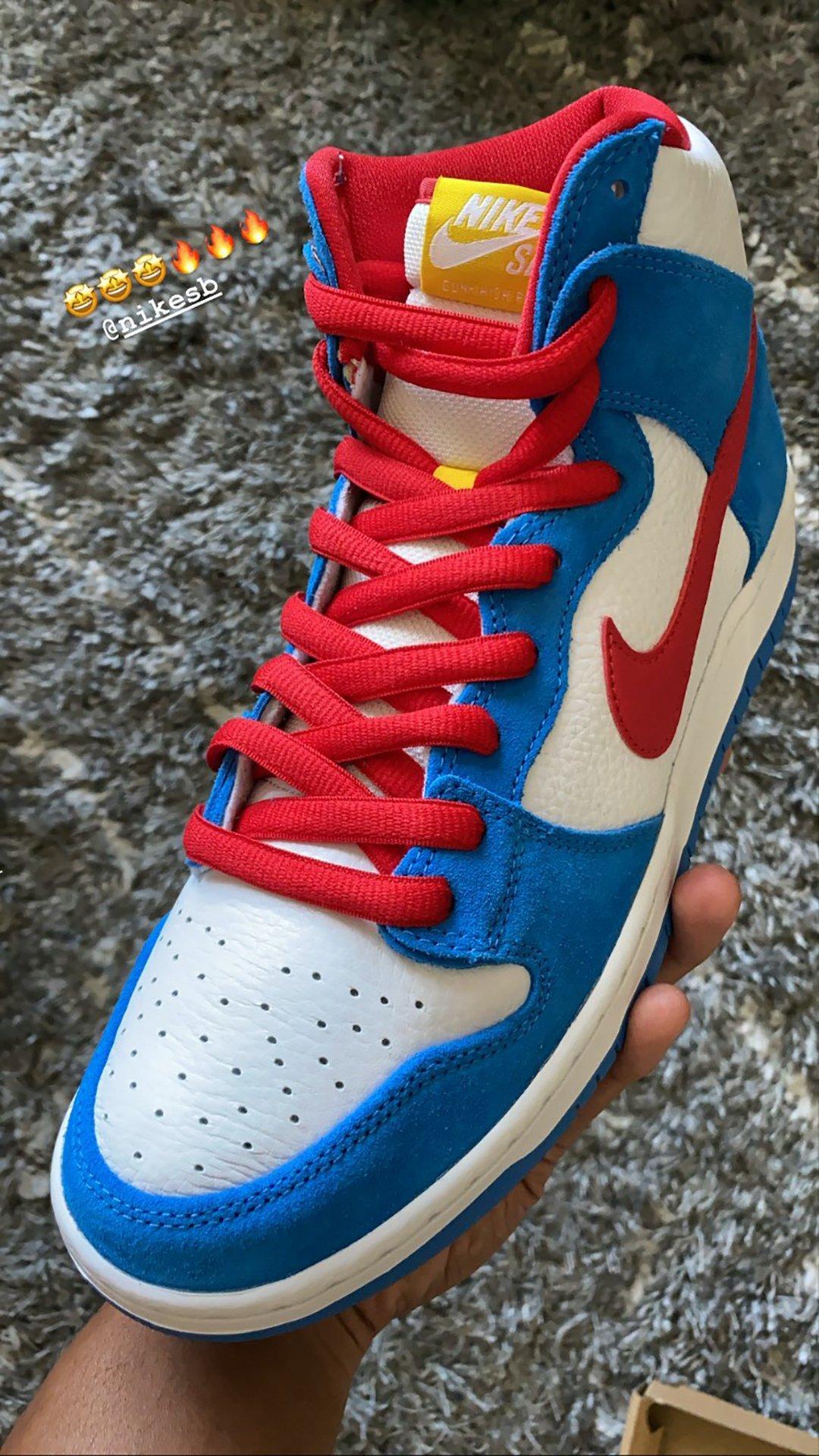 Nike SB Dunk High Doraemon Release Date Info