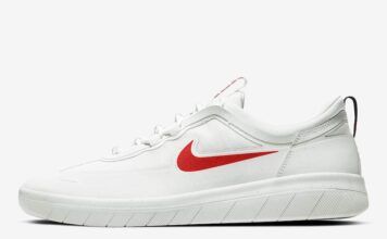 Nike SB Nyjah Free 2 White Red Blue BV2078-105 Release Date Info