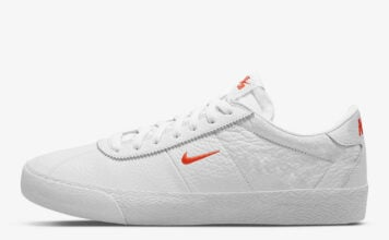 Nike SB Zoom Bruin White Team Orange AQ7941-101 Release Date Info