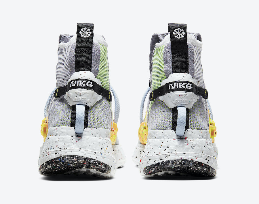 Nike Space Hippie 03 Grey Volt CQ3989-002 Release Date Info