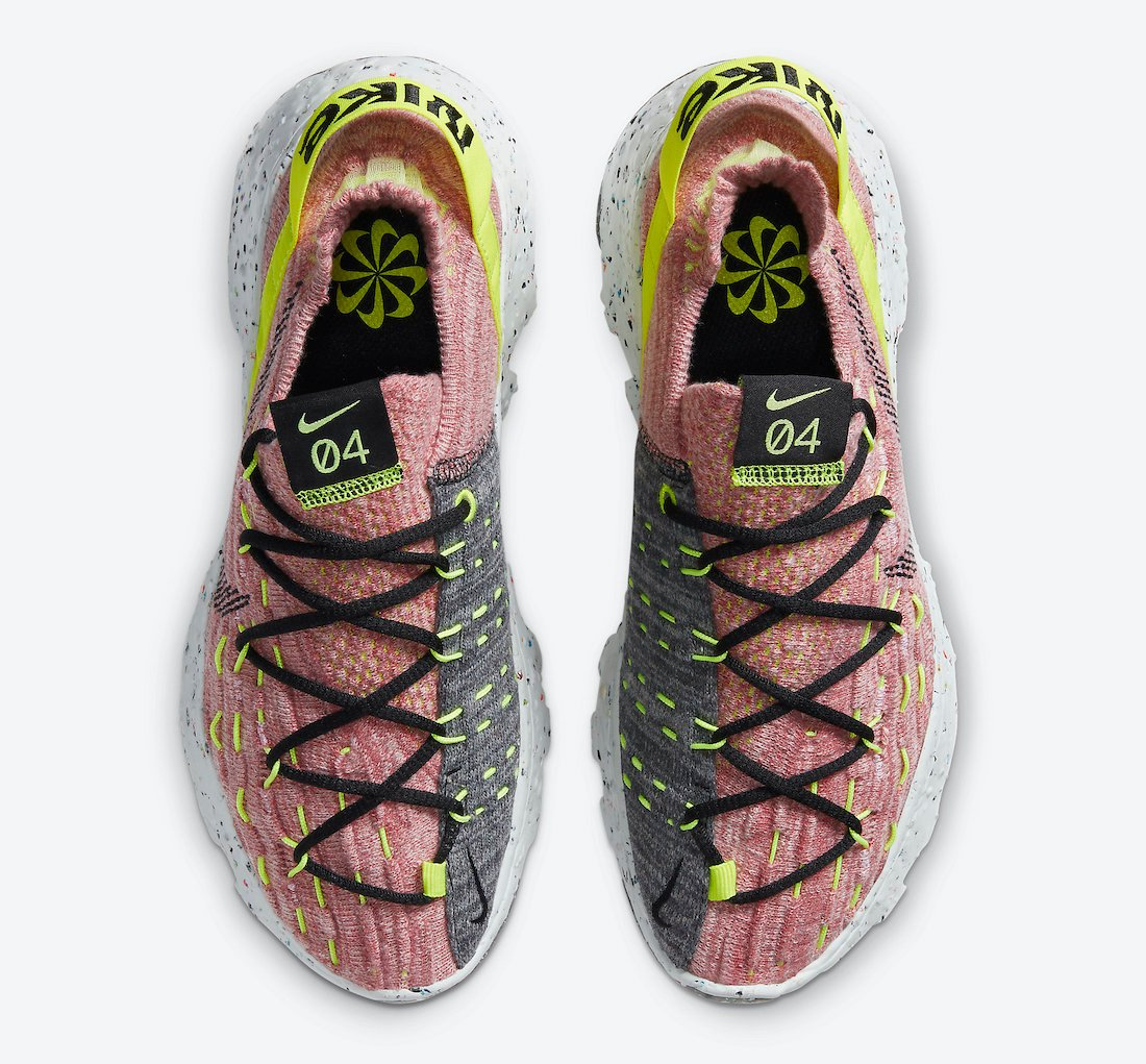 Nike Space Hippie 04 Lemon Venom CD3476-700 Release Date