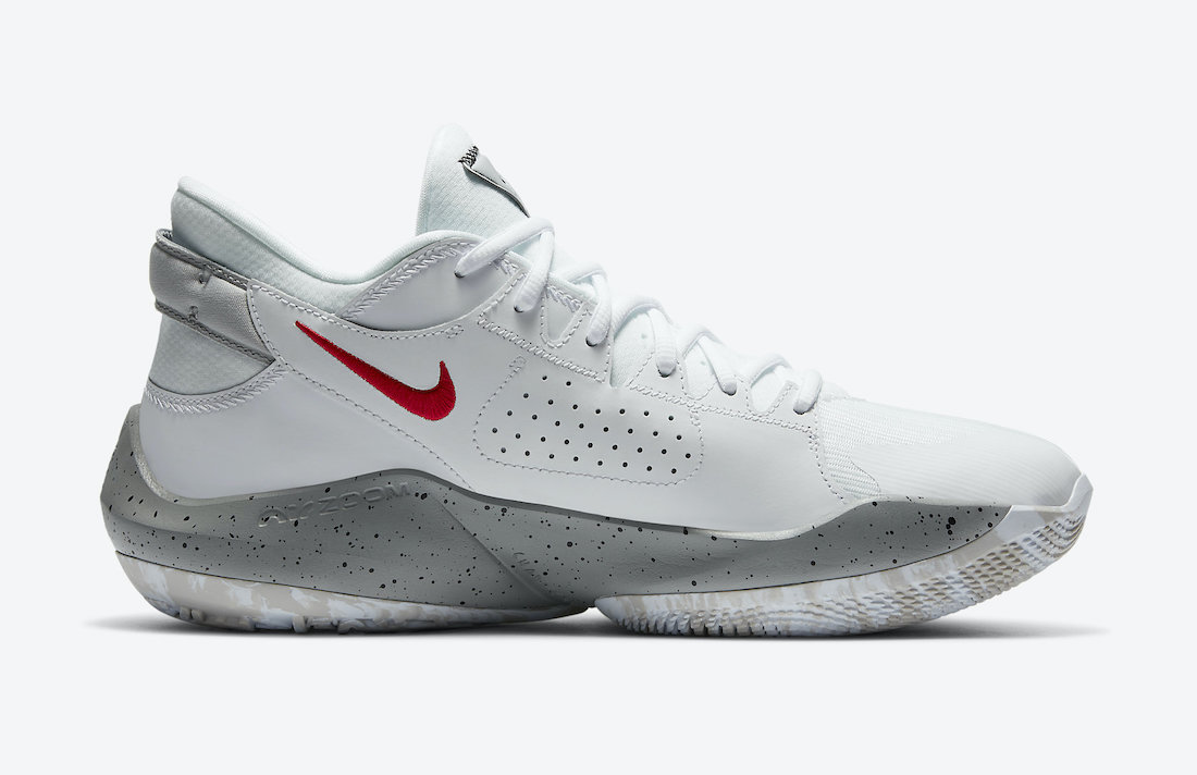 Nike Zoom Freak 2 White Cement CK5825-100 Release Date