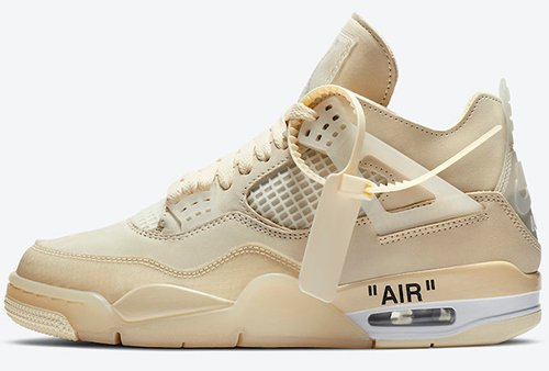 Off-White Air Jordan 4 Sail 2020 Release Date