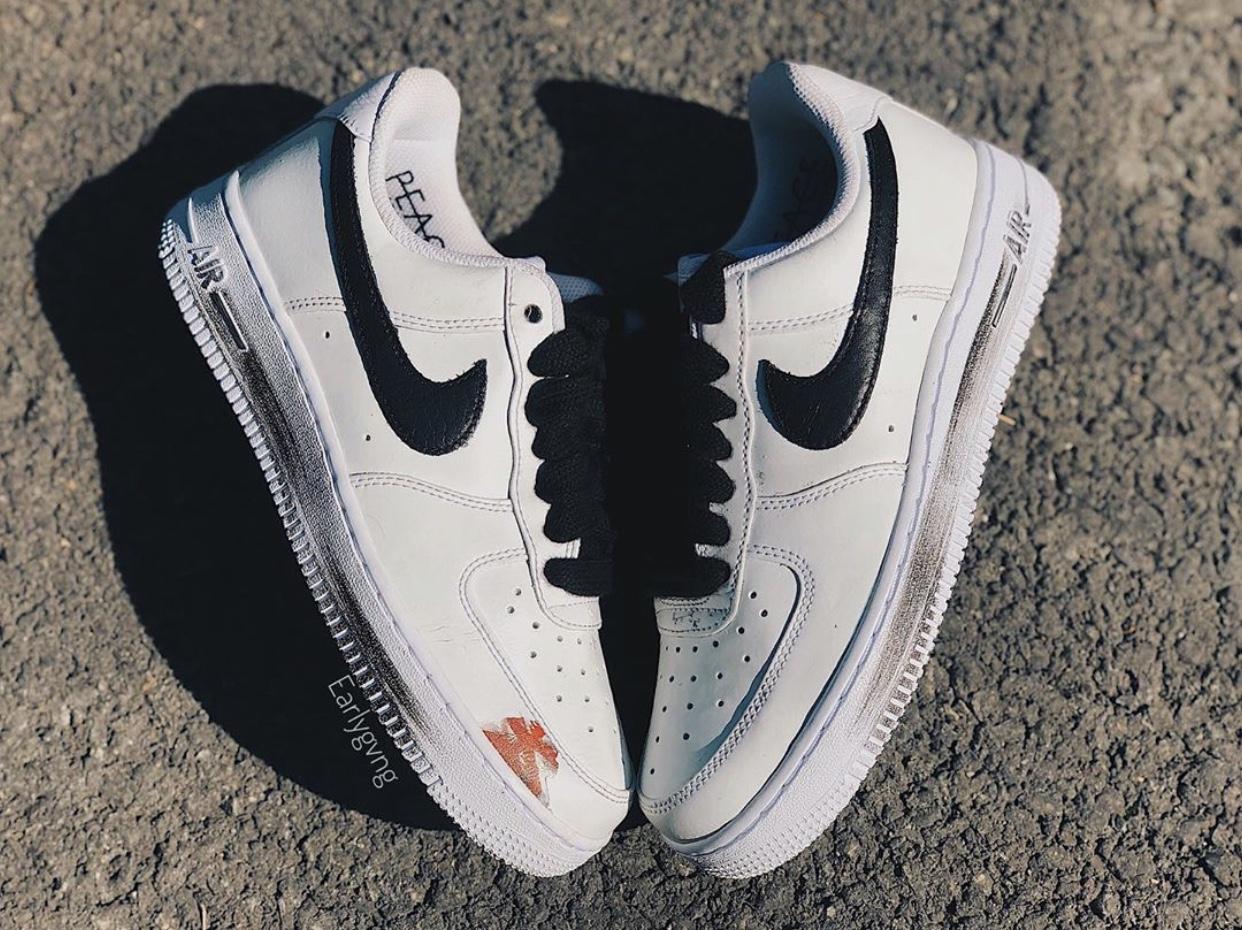 PEACEMINUSONE Nike Air Force 1 White DD3223-100 Release Details