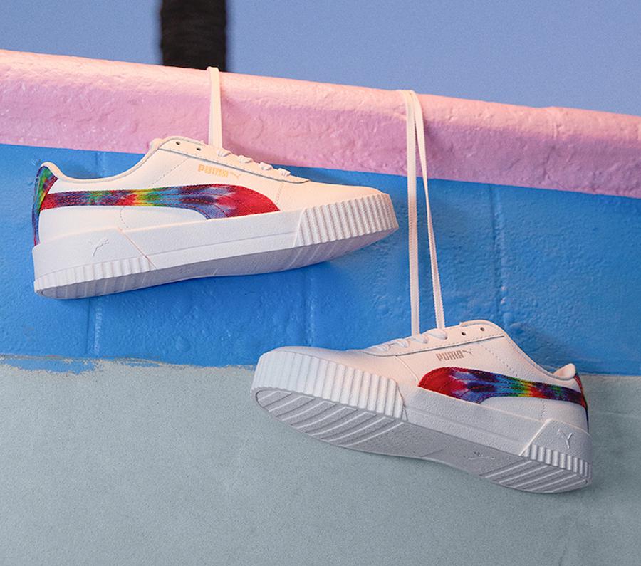 Puma Carina Tie Dye 368670-01 Release Date Info