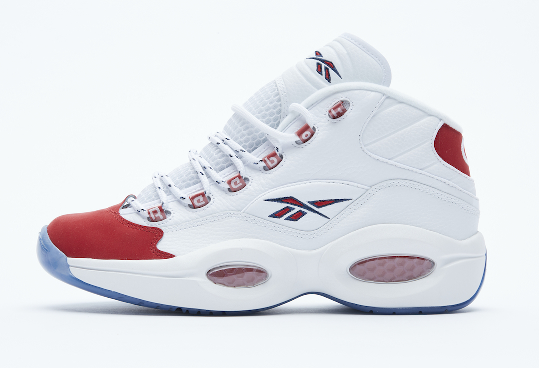 Reebok Question Mid Suede Red Toe 2020 Release Date Info