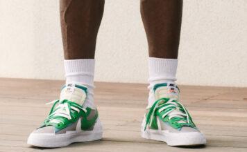 sacai Nike Blazer Low Green Release Date