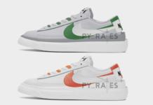 Sacai Nike Blazer Low Release Date Info