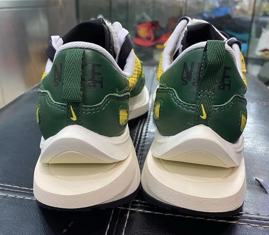sacai Nike VaporWaffle Tour Yellow Stadium Green CV1363-700 Release Date Info