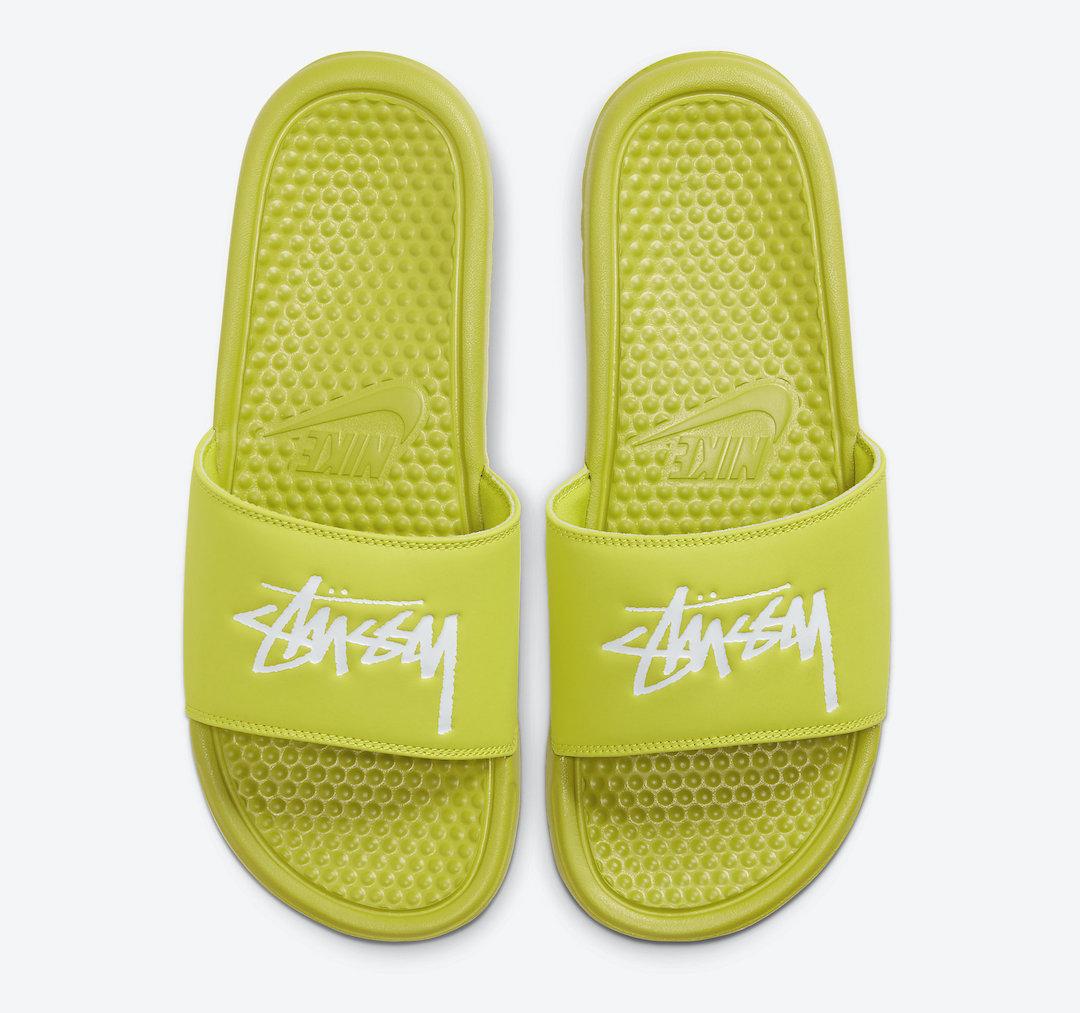 Stussy Benassi Slide Bright Cactus CW2787-300