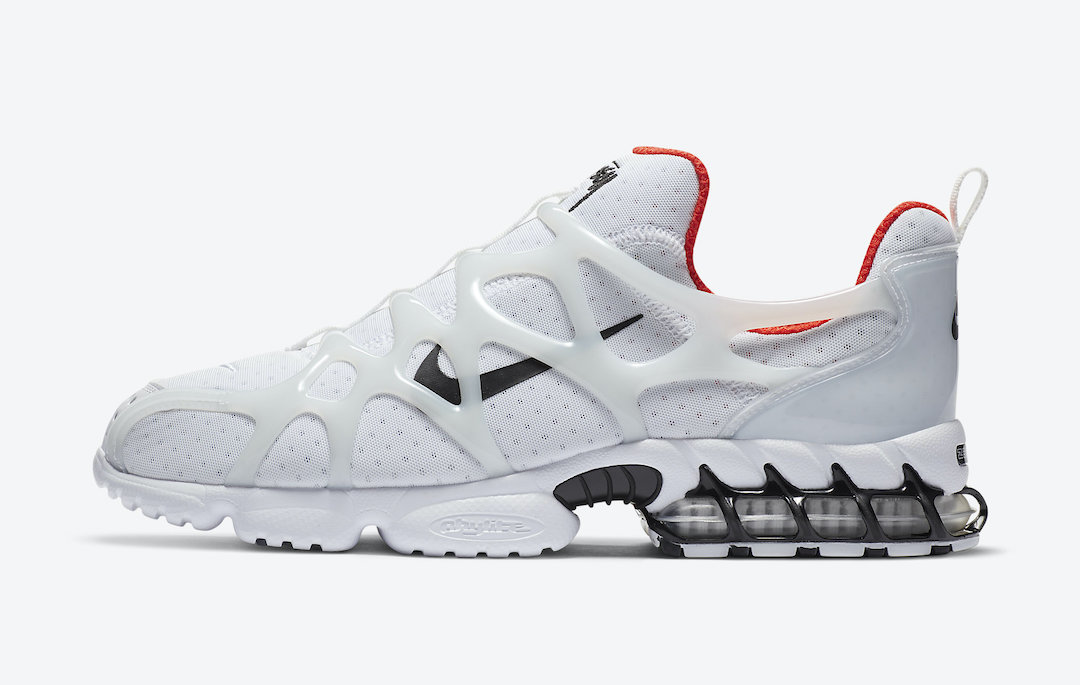 Stussy Nike Air Zoom Spiridon Kukini White CJ9918-100 Release Date