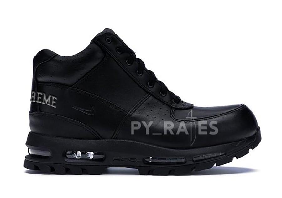 Supreme Nike Air Max Goadome Black Release Date Info