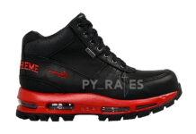 Supreme Nike Air Max Goadome Fire Red Black Release Date Info