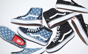 Supreme Vans Hole Punch Denim Release Date Info
