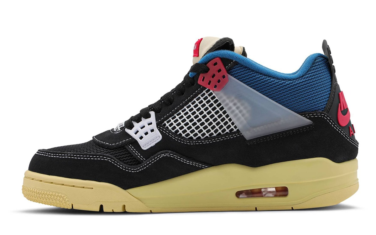 Union Air Jordan 4 DC9533-001 Release