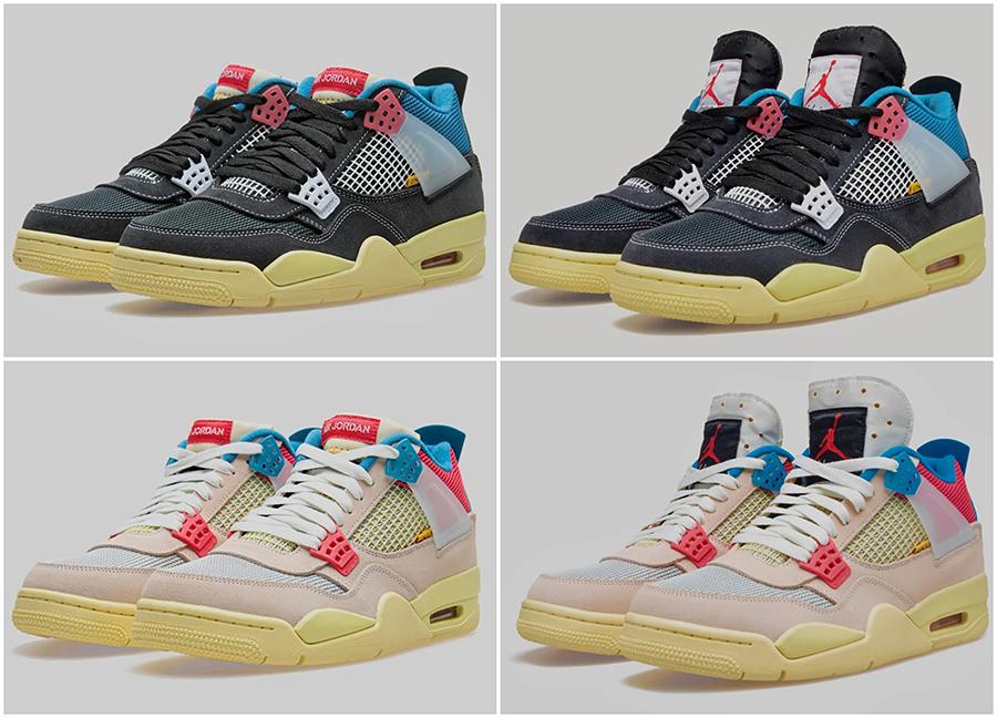 Union x Air Jordan 4 Collection