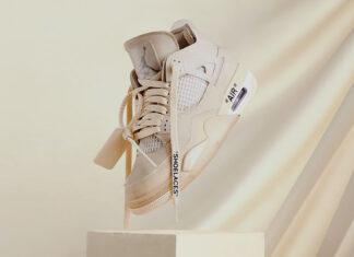 Where to Buy the Off-White x Air Jordan 4 WMNS Sail