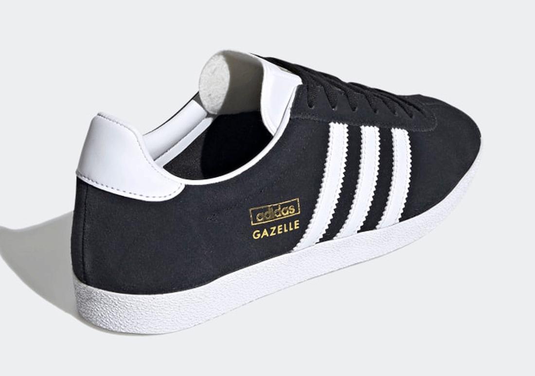 adidas Gazelle OG Core Black FV7773 Release Date Info