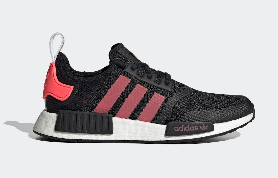 adidas NMD R1 Black Signal Pink FV9153 Release Date Info ...