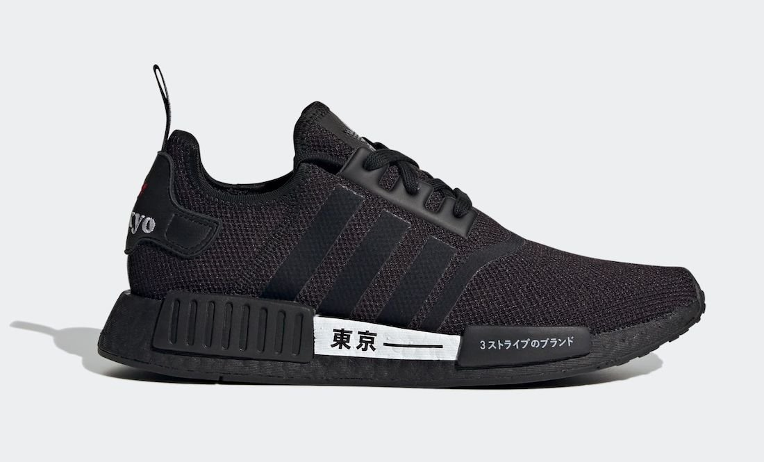 adidas NMD R1 Tokyo Black H67746 Release Date Info