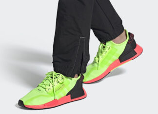 adidas NMD R1 V2 Signal Green Pink FY5920 Release Date Info