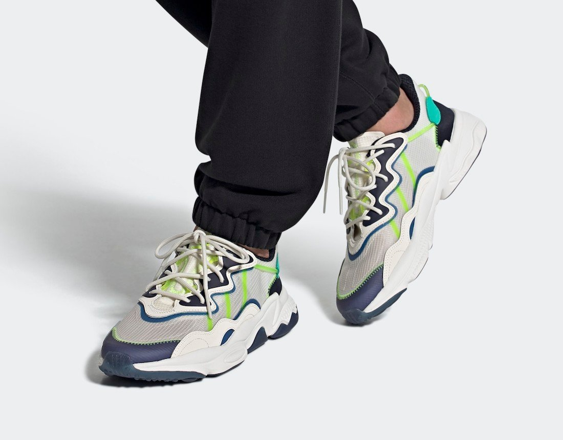 adidas Ozweego Signal Green FY3124 Release Date Info