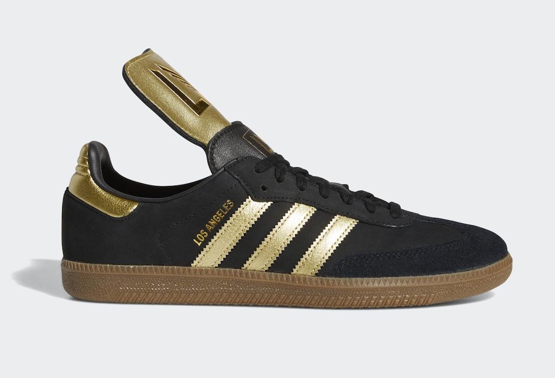 adidas Samba LAFC FX9027 Release Date Info