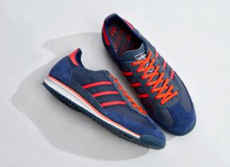 adidas SL 72 Legacy Blue Solar Red FV9783