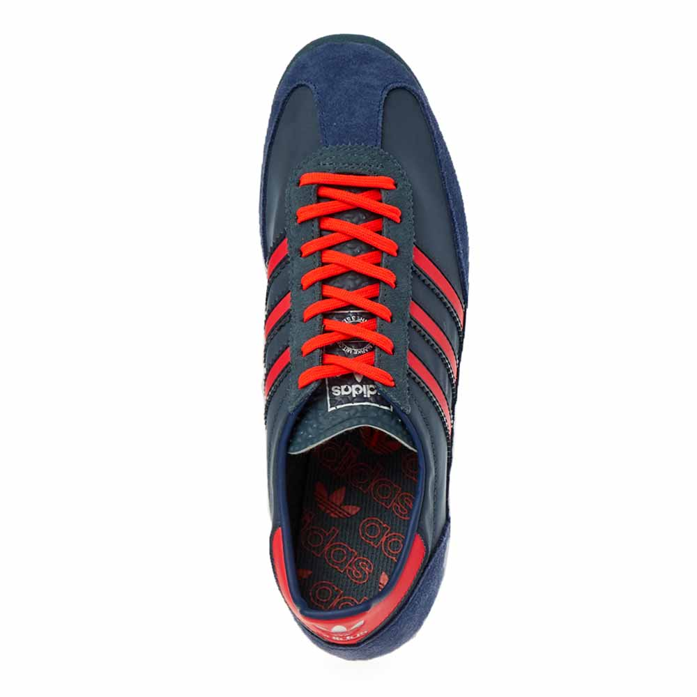 adidas SL 72 Legacy Blue Solar Red FV9783 Release Date Info