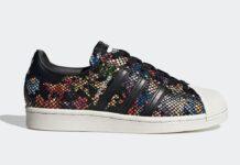 adidas Superstar Flower Print FW3703 Release Date Info