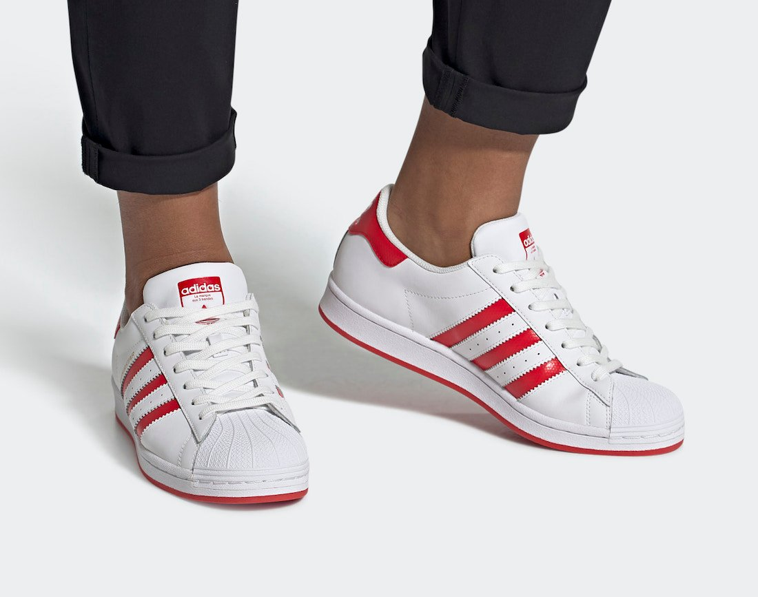 adidas Superstar Lush Red FW6011 Release Date Info