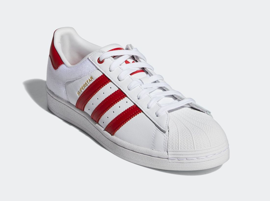 adidas Superstar White Red FY3117 Release Date Info